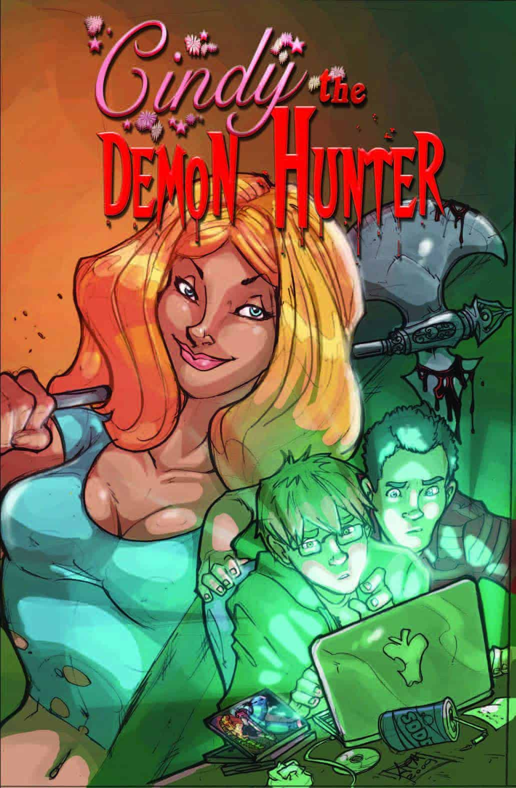 Cindy-the-Demonhunter-Cover