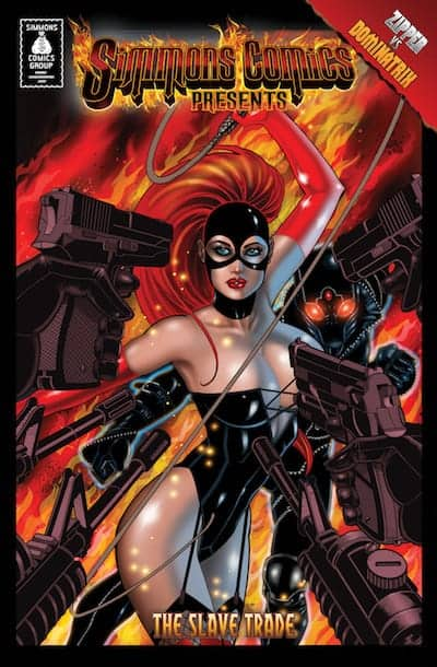 Simmons Comics Anthology Zipper Vs Dominatrix