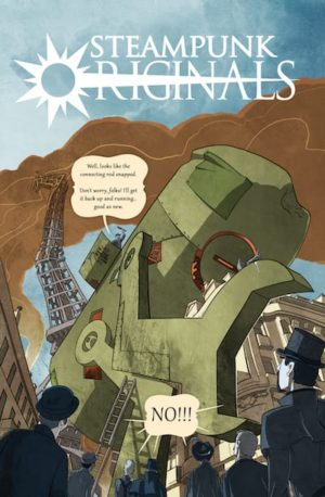 SteamPunk Originals Volume 1